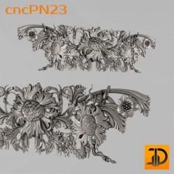 Резная панель cncPN23 - 3D ЧПУ