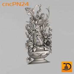 Резная панель cncPN24 - 3D ЧПУ