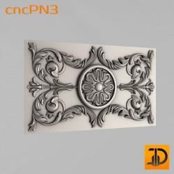 Резная панель cncPN3 - 3D ЧПУ