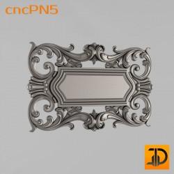 Резная панель cncPN5 - 3D ЧПУ