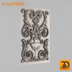 Резная панель cncPN6 - 3D ЧПУ