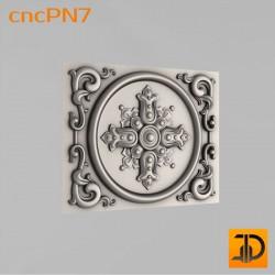 Резная панель cncPN7 - 3D ЧПУ
