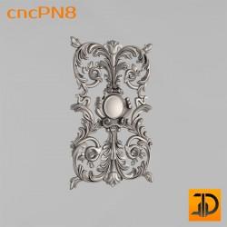 Резная панель cncPN8 - 3D ЧПУ