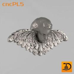 Резной ангел - cncPL5