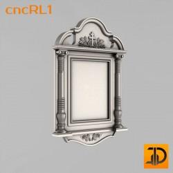 Киот для иконы cncRL1 - 3D модель ЧПУ