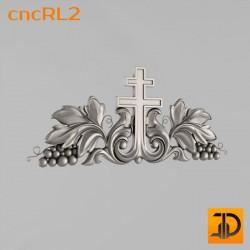 Крест cncRL2 - 3D модель ЧПУ
