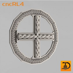 Cross cncRL4 - 3D model of CNC