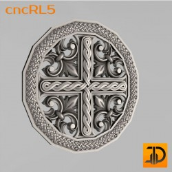 Cross cncRL5 - 3D model of CNC