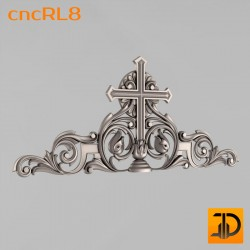 Крест cncRL8 - 3D модель ЧПУ