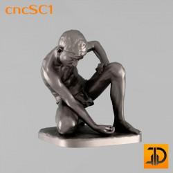 Скульптура cncSC1 - 3D модель ЧПУ