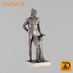 """Скульптура """"Марс"""" cncSC2 - 3D модель ЧПУ"""